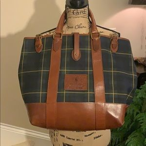 Ralph Lauren travel tote